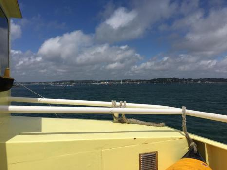 The ferry to Brownsea