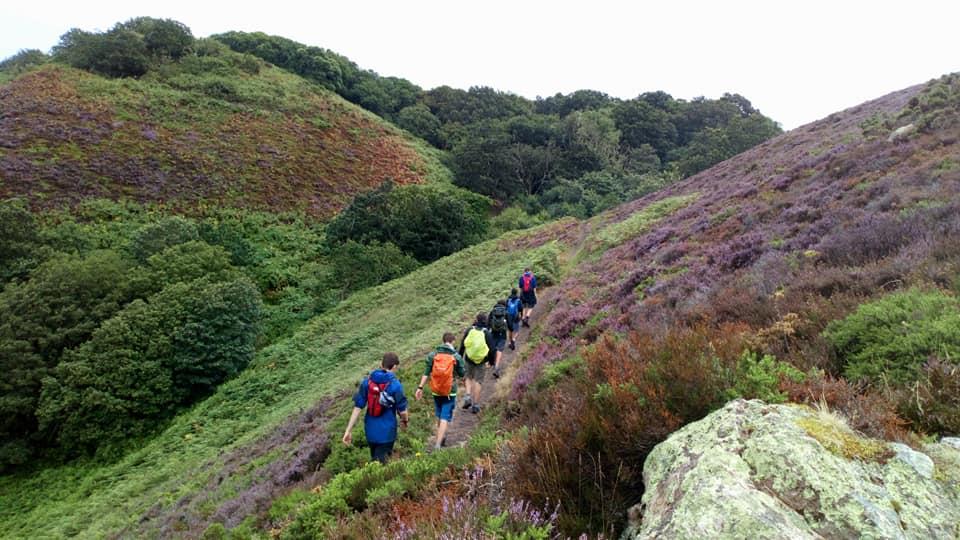 Hiking 80km, nuts!